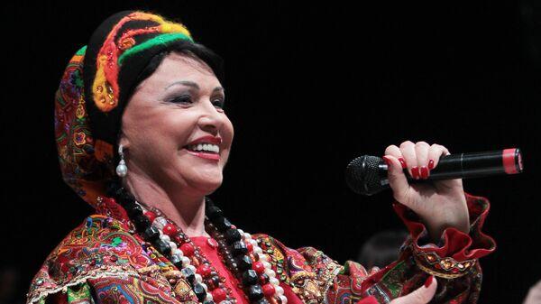 Певица Надежда Бабкина