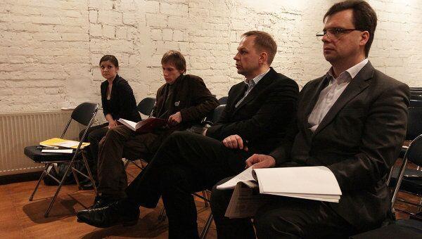 Заседание по Григорию Охотину в Малом зале ЦДЖ