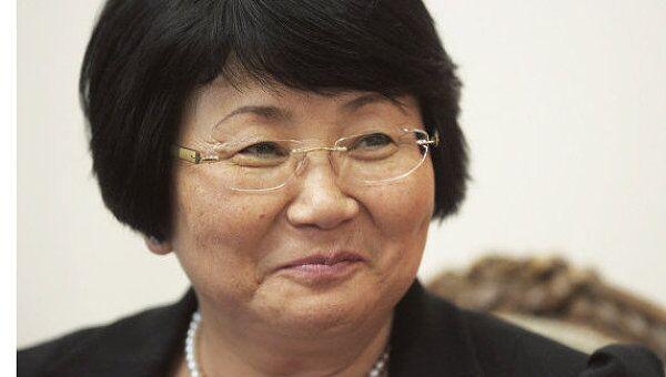 Роза Отунбаева. Архив