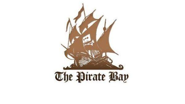 Логотип ресурса The Pirate Bay. Архивное фото