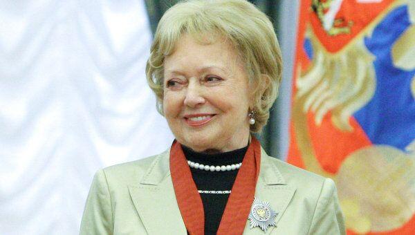 Актриса Людмила Касаткина. Архивное фото