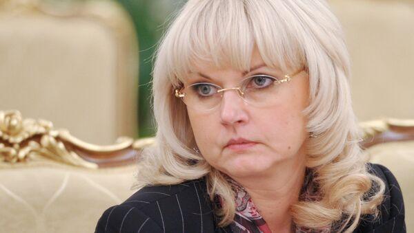 Глава Счетной палаты Татьяна Голикова. Архивное фото
