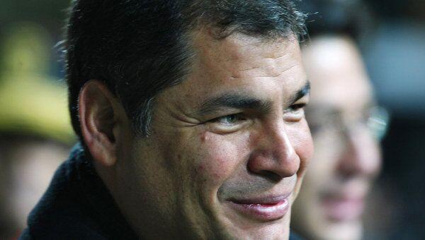 Президент Эквадора Рафаэль Корреа прибыл в Москву с официальным визитом