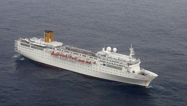Круизный лайнер Costa Allegra