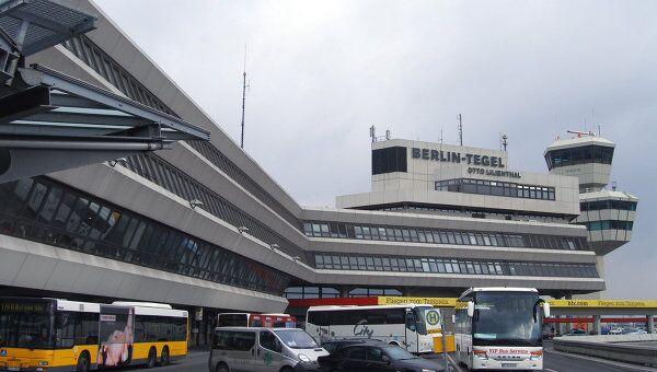 Главный терминал международного аэропорта Тегель. Архив