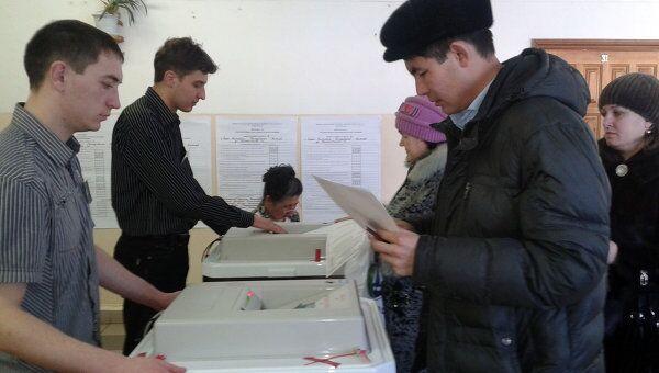 Выборы в Горно-Алтайске. Архивное фото
