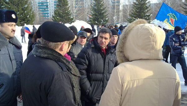Митинг выборы молодежь Путин Набережные Челны
