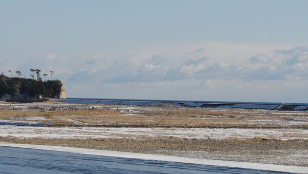 Морской курорт в префектуре Фукусима, граничащий с зоной отчуждения. Год после катастрофы