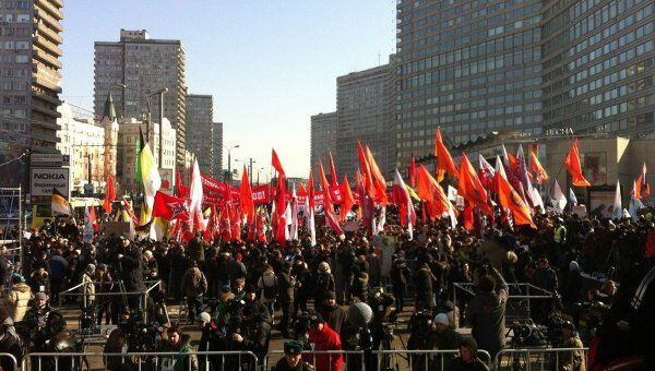 Митинг 10 марта новый арбат репортер
