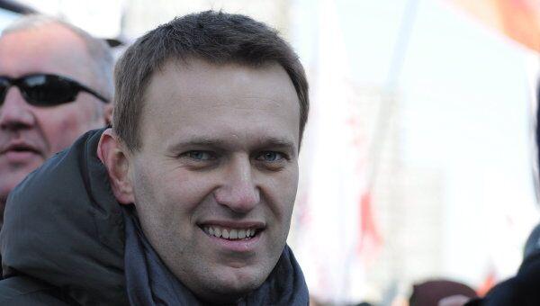 Блогер, создатель проекта Росвыборы Алексей Навальный.