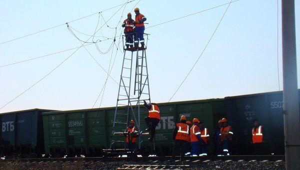 Столкновение железнодорожных составов в Еврейской АО