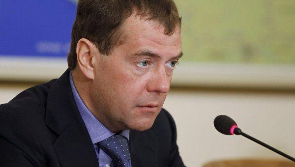 Президент РФ Д.Медведев провел совещание с главами регионов Северного Кавказа
