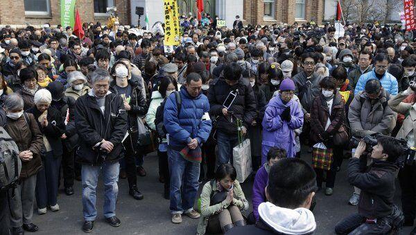 Сорокатысячная демонстрация против атомной энергии прошла в Токио