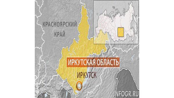 Иркутск, карта