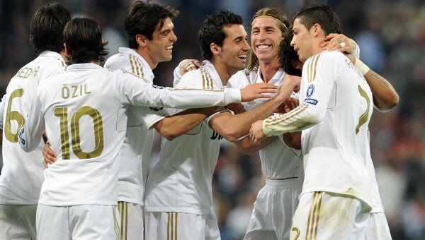 Игроки Реала. Архивное фото