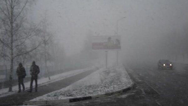 Зима вернулась в Белгород