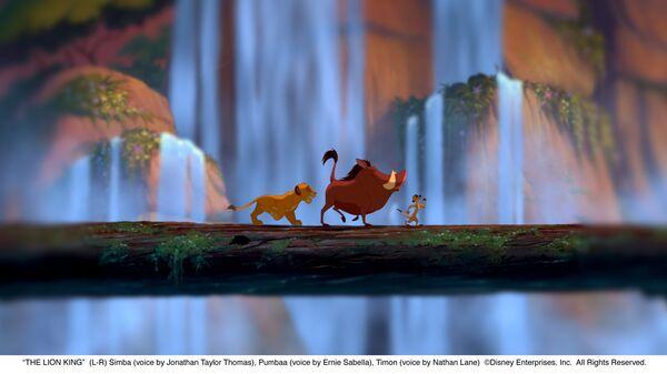Кадр из мультфильма Король Лев