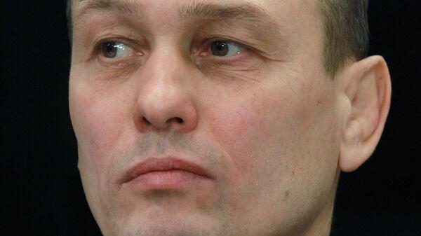 Главный тренер сборной команды России по самбо Дмитрий Трошкин