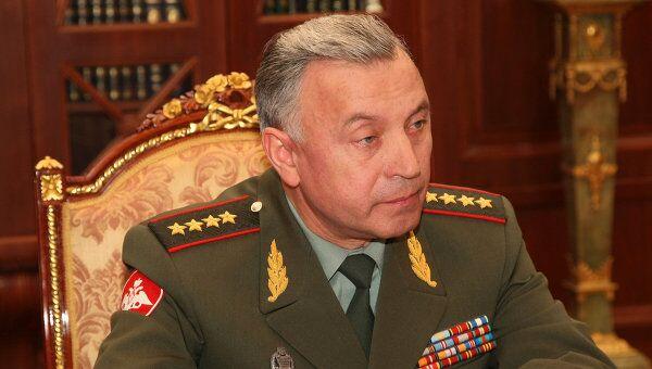 Начальник Генштаба ВС РФ генерал армии Николай Макаров, представляющий Россию на встрече начальников генштабов РФ-НАТО на заседании в Брюсселе