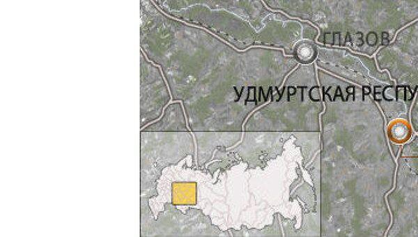 Удмуртия, поселок Балезино