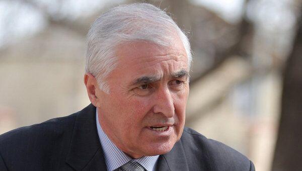 Глава Южной Осетии Леонид Тибилов. Архив