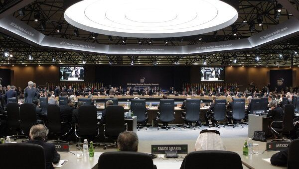 Президент РФ Д.Медведев принял участие в саммите по ядерной безопасности в Сеуле