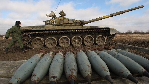 Осколочно-фугасные снаряды, архивное фото