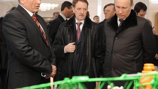 Рабочая поездка Владимира Путина в Центральный федеральный округ