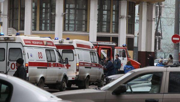 Взрыв на станции метро Парк культуры