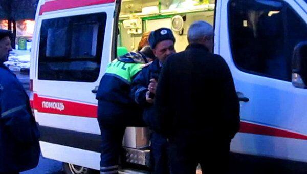 ЗИЛ сбил мужчину, переходившего дорогу на востоке Москвы