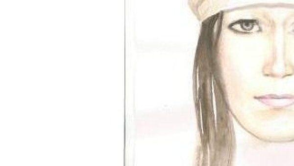 Цветной рисованный портрет подозреваемой в похищении ребенка