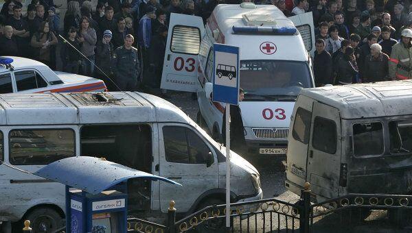 Взрыв во Владикавказе. Архив