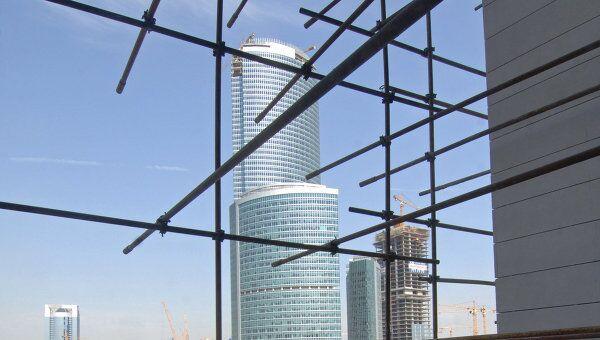 Москва - Сити. Башня Федерация. Архив