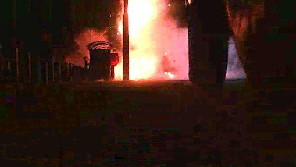 Силовики взорвали автомобиль с боевиками в Ингушетии