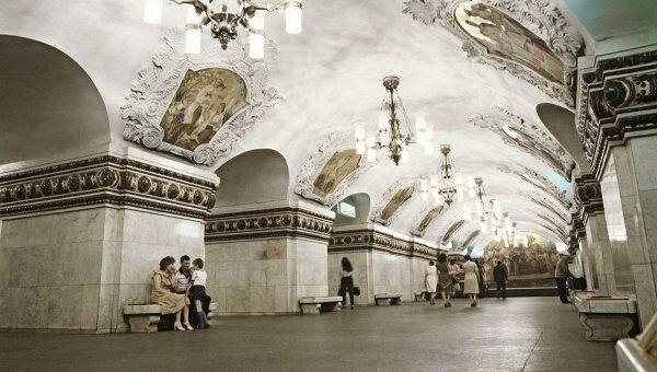 На станции метро Киевская (радиальная)
