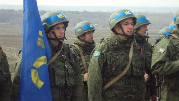 Учения миротворцев 5 апреля 2012 года