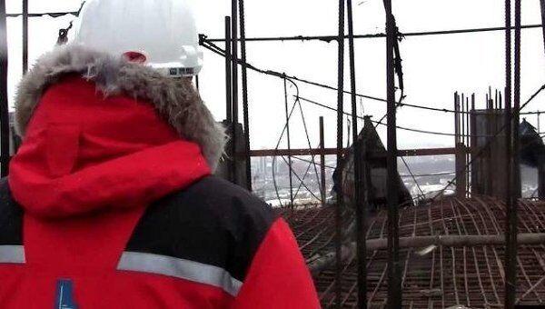 Застройщики показали, что осталось после пожара на башне Восток