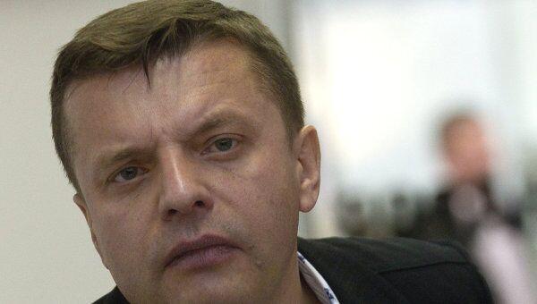 Журналист Леонид Парфенов. Архив