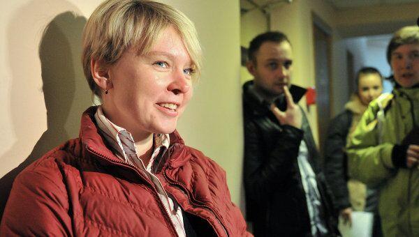 Заседание суда по делу Евгении Чириковой