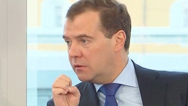 Медведев не поверил данным об уголовном прошлом бизнеса в РФ