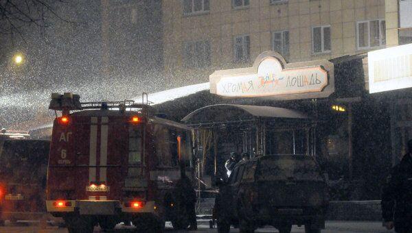 Большие человеческие жертвы при пожаре в пермском кафе