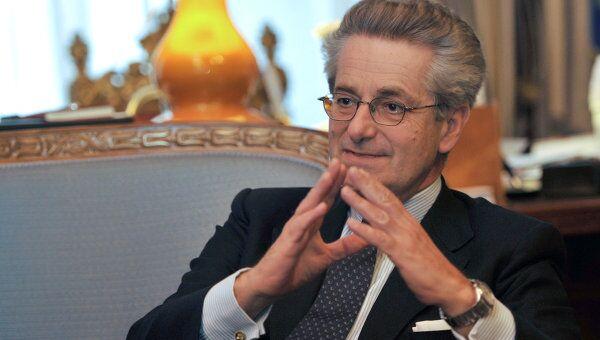 Чрезвычайный и полномочный посол республики Италия в РФ Антонио Дзанарди Ланди