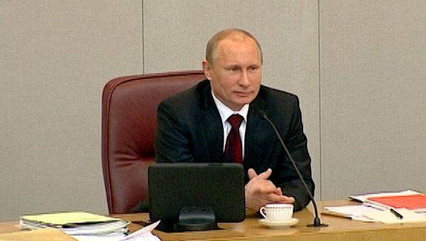 Путин объяснил, почему хорошо остаться с носом