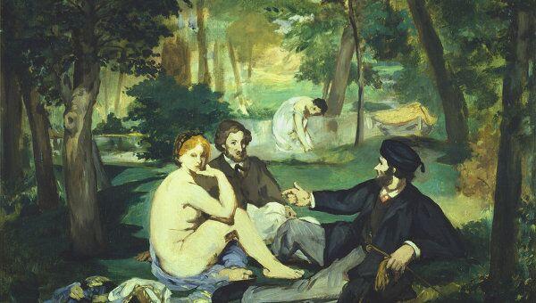 Эдуард Мане, Завтрак на траве