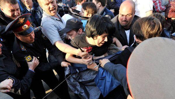 Митинг в поддержку экс-кандидата в мэры Астрахани Олега Шеина