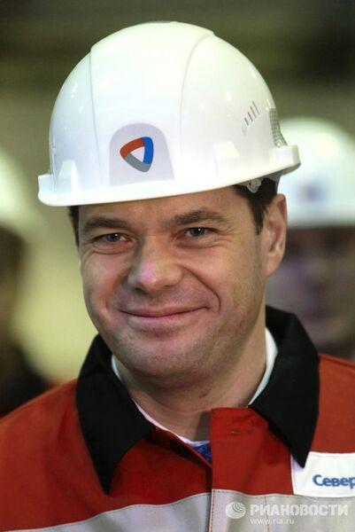 Генеральный директор ОАОСеверсталь Алексей Мордашов