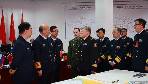 Совместные военно-морские учения РФ и Китая