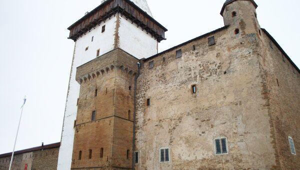 Нарвский замок. Архивное фото