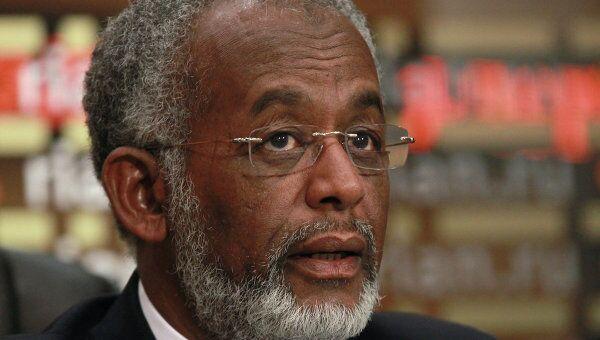 Пресс-конференция министра иностранных дел Республики Судан Али Ахмеда Карти