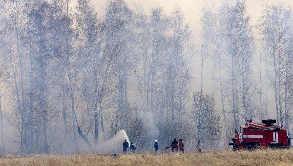 На Среднем Урале из-за пала травы сгорели восемь домов
